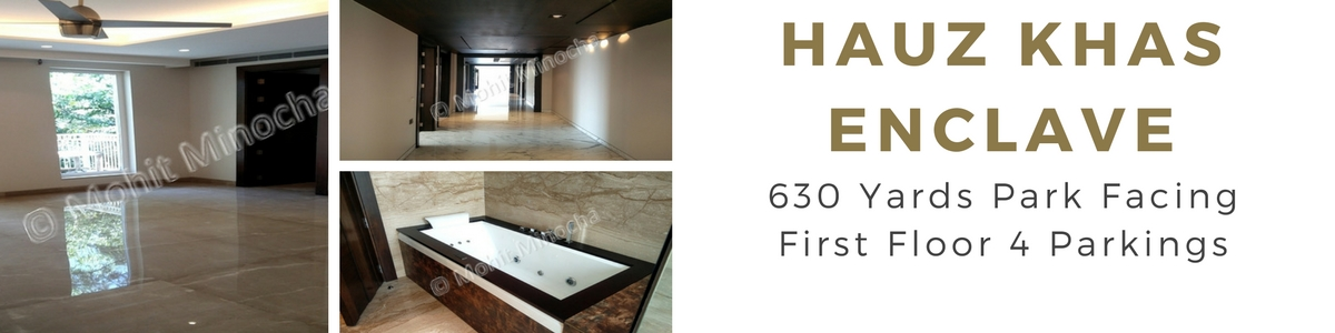 Hauz Khas Enclave,600 Yards,First Floor,4 BHK