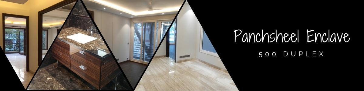 Panchsheel Enclave,500,Basement and Ground Duplex