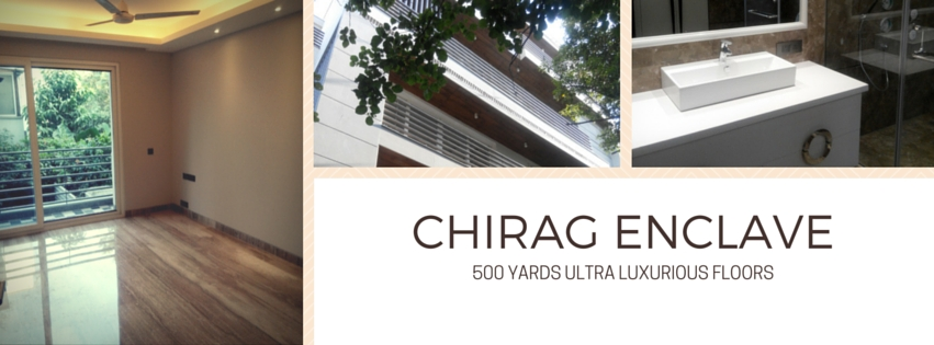 Chirag Enclave, 500 Yards, 4 BHK, First and Second Floor