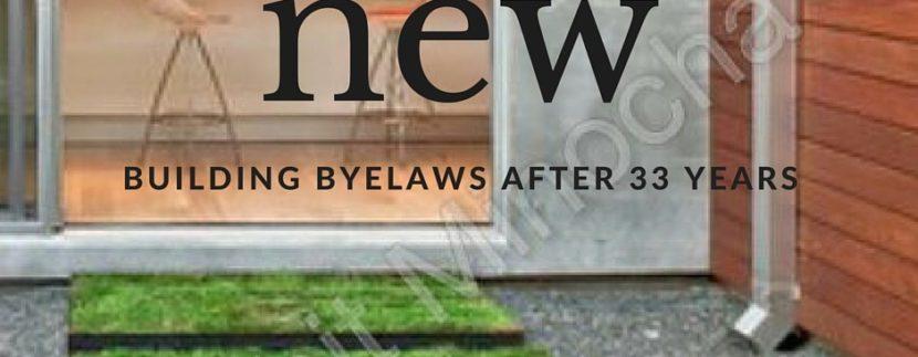 delhi new building byelaws