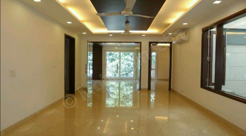 House in Anand Lok, 400 Yards Park Facing Property