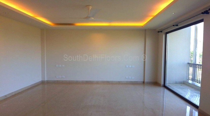 GK II New Delhi, 250 Yards Flats 1st, 2nd and Top Floor