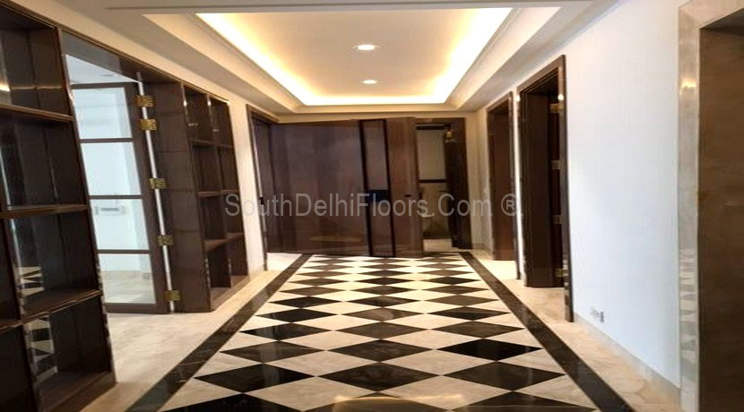Property for Sale in Anand Lok, 400 Yards Park Facing, First Floor