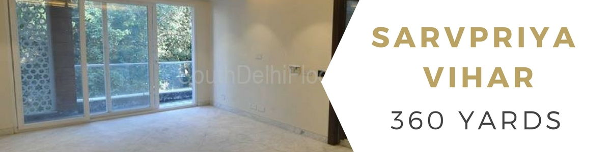 Property in Sarvpriya Vihar, 360 Yards Corner First Floor, 4 Bedrooms
