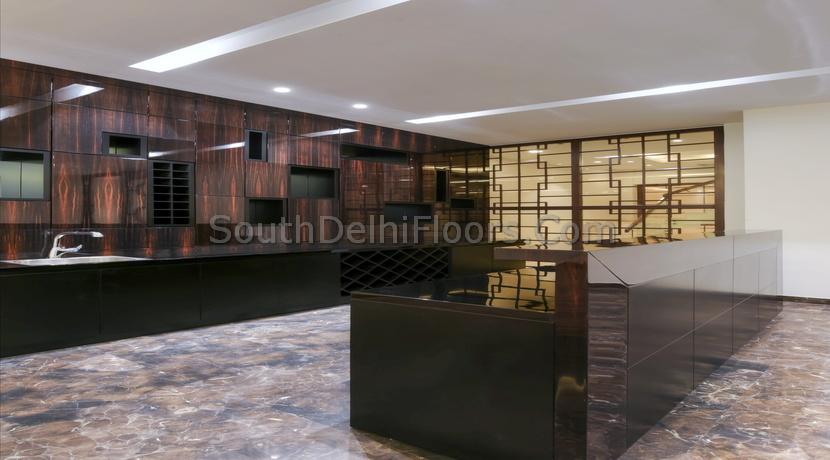 Hauz Khas Delhi, 540 Yards Basement and Ground Duplex, 4 BHK
