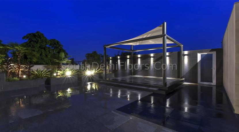 Chanakyapuri New Delhi, Second Floor and Top Floor, Builder Flat for Sale