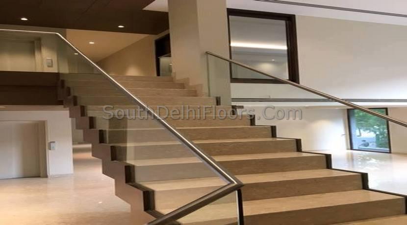 Panchsheel Park Delhi, 6800 Sq Ft Second and Top Floor Duplex
