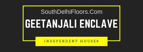house for sale in Geetanjali Enclave