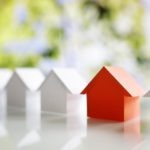 Searching for real estate property, house or new home